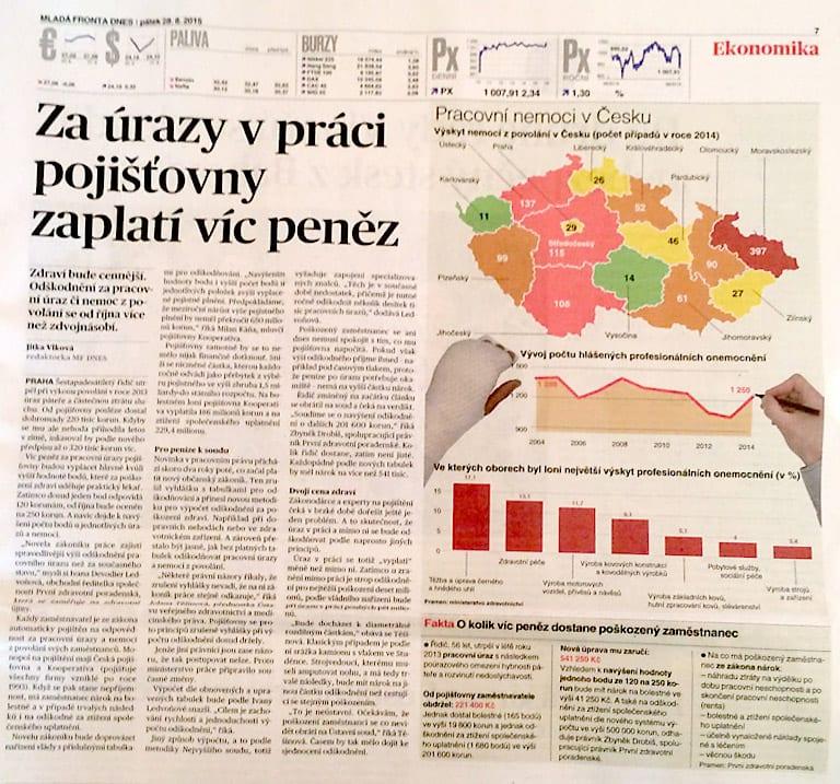 Výstřižek z novin